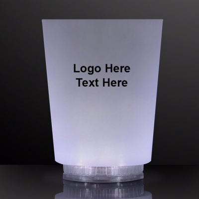 Promotional Logo White Light Short Cups