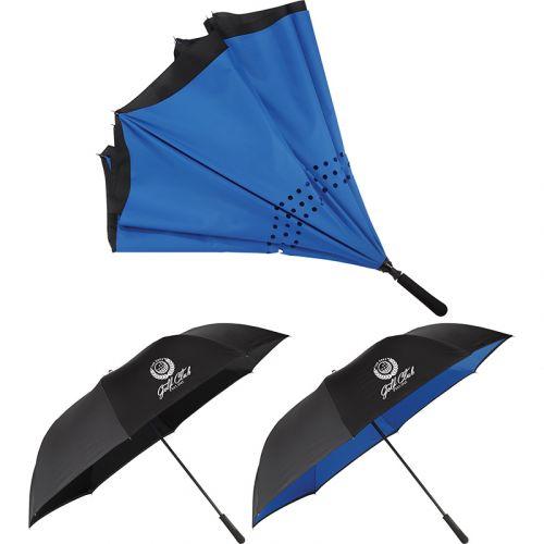 58 Inch Inversion Manual Golf Umbrellas