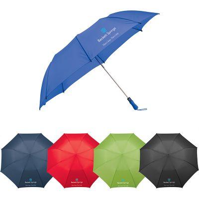 Custom 58 Inch Arc Ultra Value Auto Open Folding Golf Umbrellas