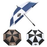 Custom Printed 62 Inch Arc totes® Auto Open Vented Golf Umbrellas