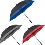 Personalized 60 Inch Arc Manual Full Fiberglass Windproof Golf Umbrellas