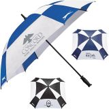 Promotional 60 Inch Arc Slazenger Cube Golf Umbrellas