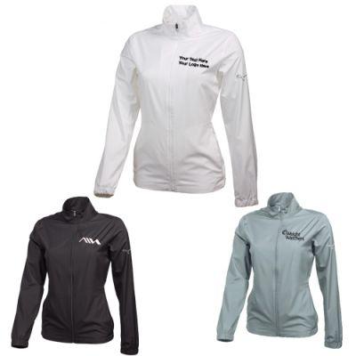 Custom Imprinted Women's Puma Golf Full Zip Wind Jackets
