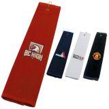 Customized Tri-Fold Golf Towels