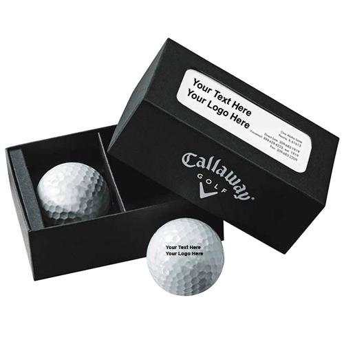 Super Soft Callaway® 2-Ball Business Card Box