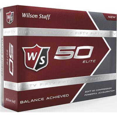 Custom Printed Wilson 50 Elite Golf Ball Std Servc