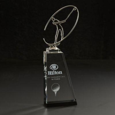 Custom Logo Imprinted Linkster Large Golf Awards