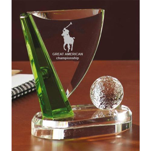 Custom Logo Imprinted Small Flagstick Golf Awards