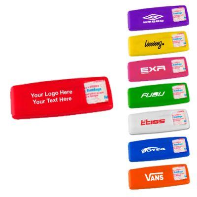Promotional Logo Living Hinge Bandage Dispensers