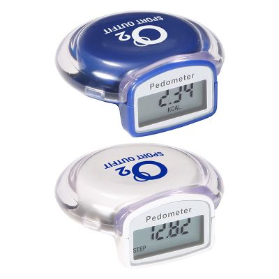 Promotional Multifunction Round Step Count Pedometers