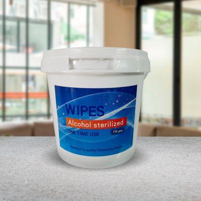 Alcohol Disinfectant Wet Wipes - 750 pcs