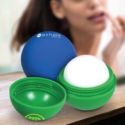 Custom Imprinted Lip Balm Balls