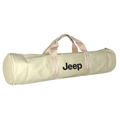 Custom Heavy Natural Cotton Canvas Yoga Bags