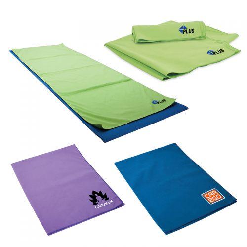 Custom Printed Yoga Workout Towels
