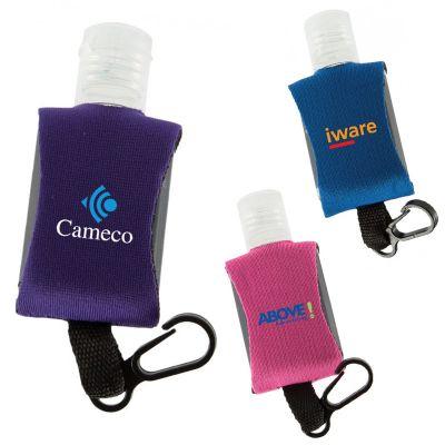 0.5 Oz Custom Printed Neoprene Sanitizers