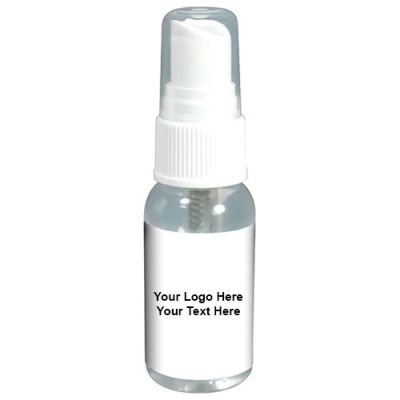 1 Oz Custom Logo Imprinted Sanitizer Sprays