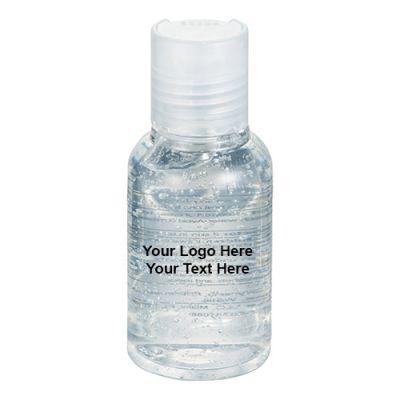3 Oz Logo Imprinted Glisten Hand Sanitizers