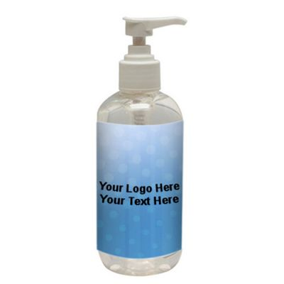 8 Oz Custom Imprinted Hand Sanitizers