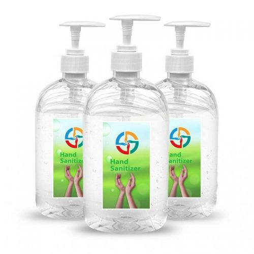 16.9 Oz Hand Gel Sanitizer Pump Bottles