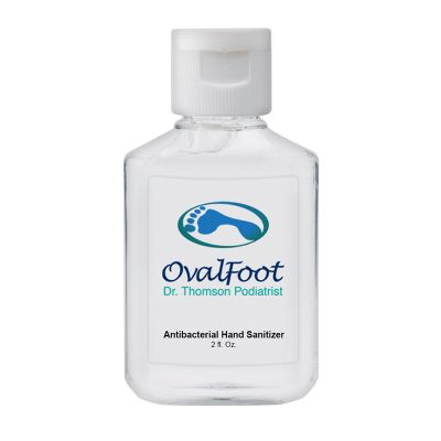 Custom Printed 2 Oz Hand Sanitizers