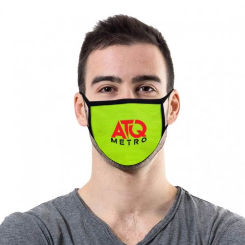 2-Ply Deluxe Cooling Fabric Face Masks