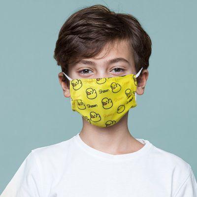 Custom Printed Anti-Bacterial Children Face Masks