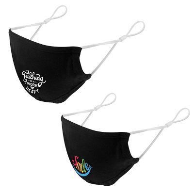 Custom Printed Non-Medical 3-Ply Cotton Masks