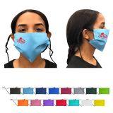 Custom Printed Non-Woven 2 Layer Face Masks