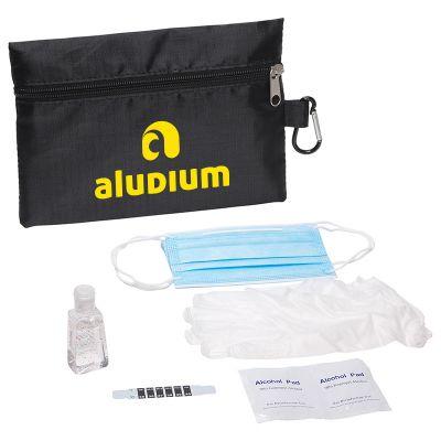 Custom Printed PPE Travel Kits