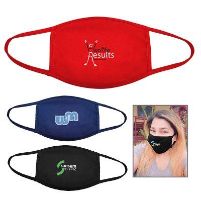 Custom Printed Protective Cotton Face Masks
