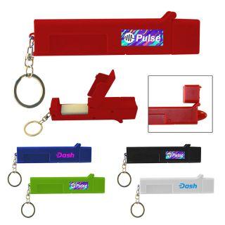 Custom Printed Sanitary Door Opener Touch Tool Keychains