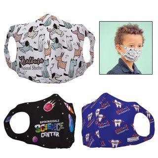 Custom Printed Sentinel Polyester Face Masks for Children