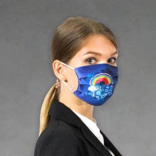 Custom Printed Soft Knitted Face Masks