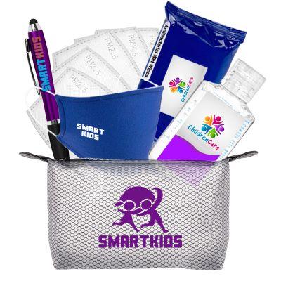 Custom Printed Everyday Advanced Child PPE Travel Kit