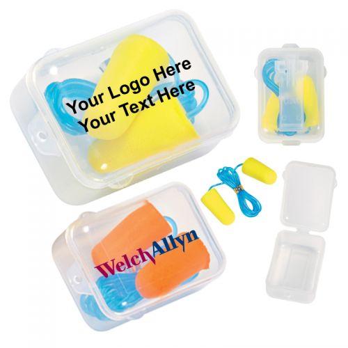Foam Ear Plug Set In Case