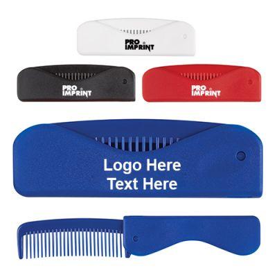 Custom Printed Folding Comb