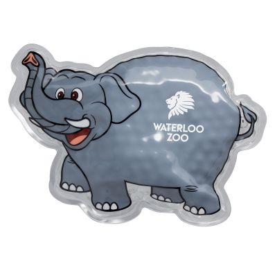 Custom Printed Elephant Shaped Hot and Cold Packs