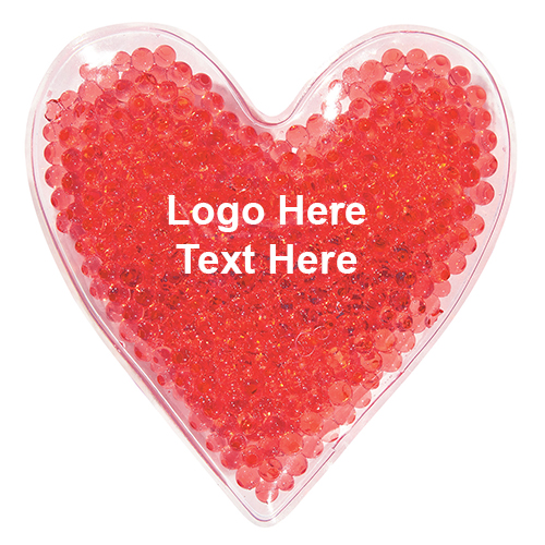 Heart Shape Gel Beads Hot / Cold Pack