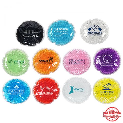 Round Aqua Pearls Hot and Cold Packs