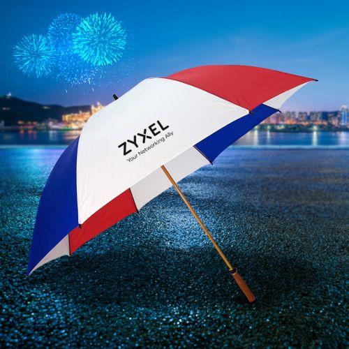 64 Inch Arc Custom Printed Golf Umbrellas