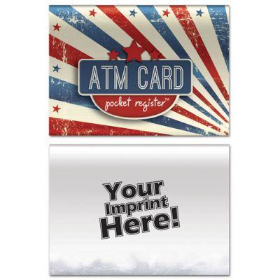 Promotional ATM Pocket Register - Patriotic