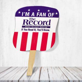 Promotional Patriotic Hand Fans