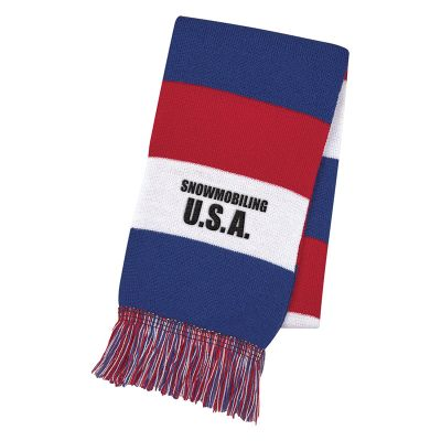 Promotional Patriotic Knit Scarves