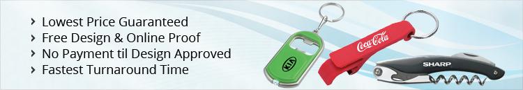Custom Bottle Openers & Corkscrews Keychains