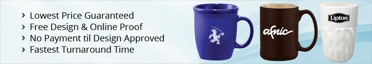 Custom Ceramic & Glass Travel Mugs