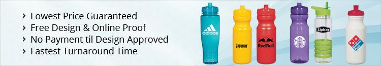 Custom Fitness Water Bottles