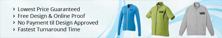 Custom Full-Zip Sweatshirts