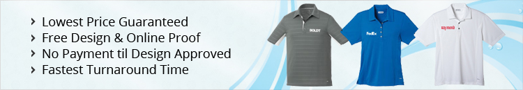 Custom Golf Polo Shirts