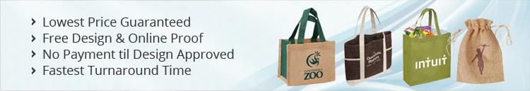 Custom Jute Tote Bags