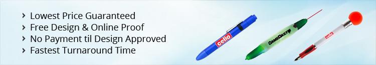 Custom Light-Up Pens